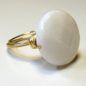 White Jade is emblematic of the Tribe of Dan. This stone would have been on the High Priest's breastplate as he entered the Holy of Holies.